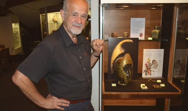 Pieter Frederiks bij de Thracische helm