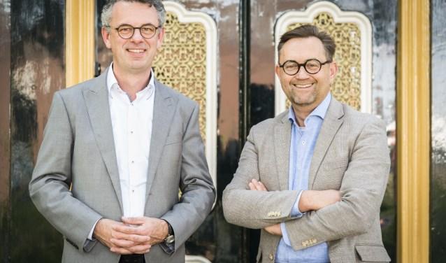 """Albert Fieret (links) en Kees Vlot. ,,Opeen eenvoudige manier, zonder toeters en bellen, kun jeveel betekenen voor hun leven."""""""