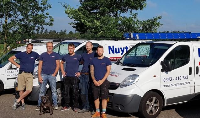 Het team van de NuytGroep geeft advies over verduurzaming.