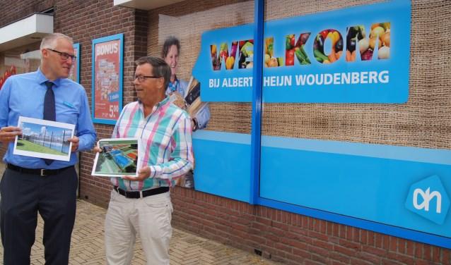 Met hoofdsponsor Albert Heijn Woudenberg kan tennisvereniging 't Schilt een padelbaan aanleggen direct achter haar clubhuis