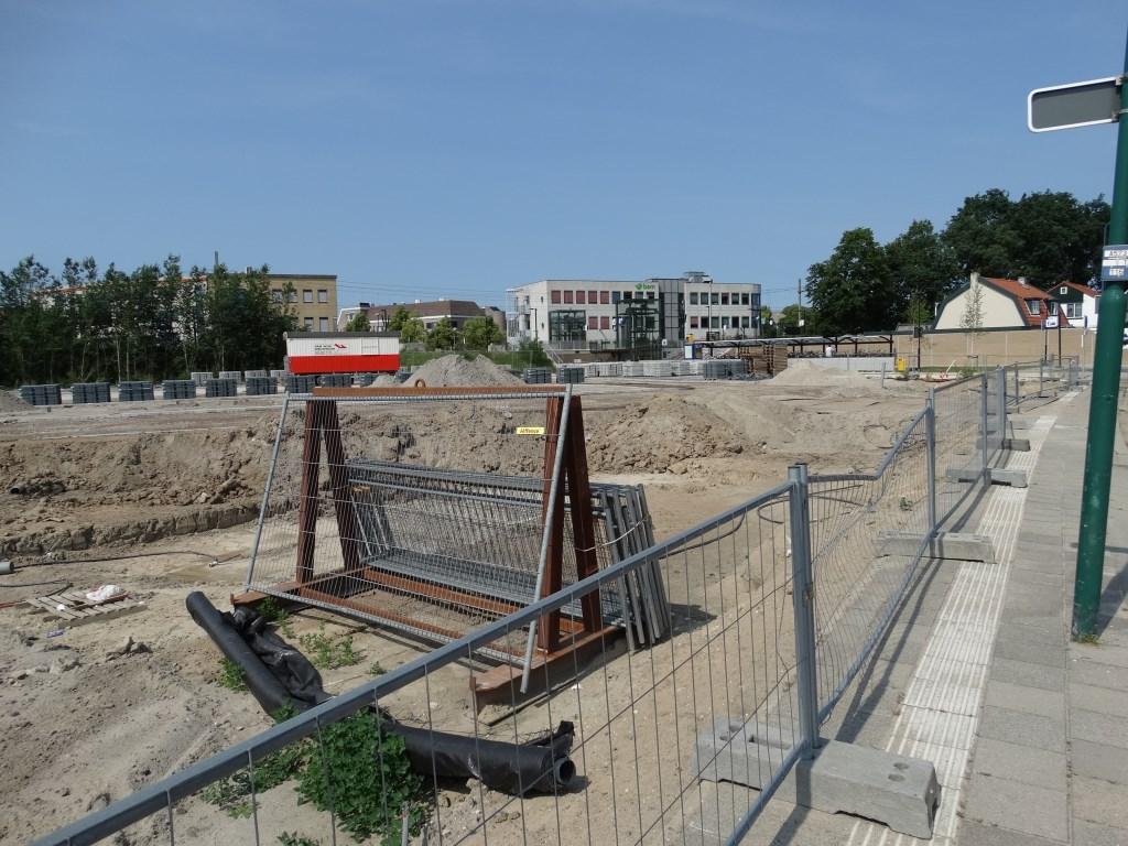 Hier de aanleg van een nieuwe parkeerplaats bij het station Bunnik Kuun Jenniskens © BDU media