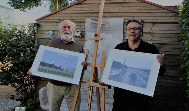 Philip en Richard zijn dringend op zoek naar schildersezels.