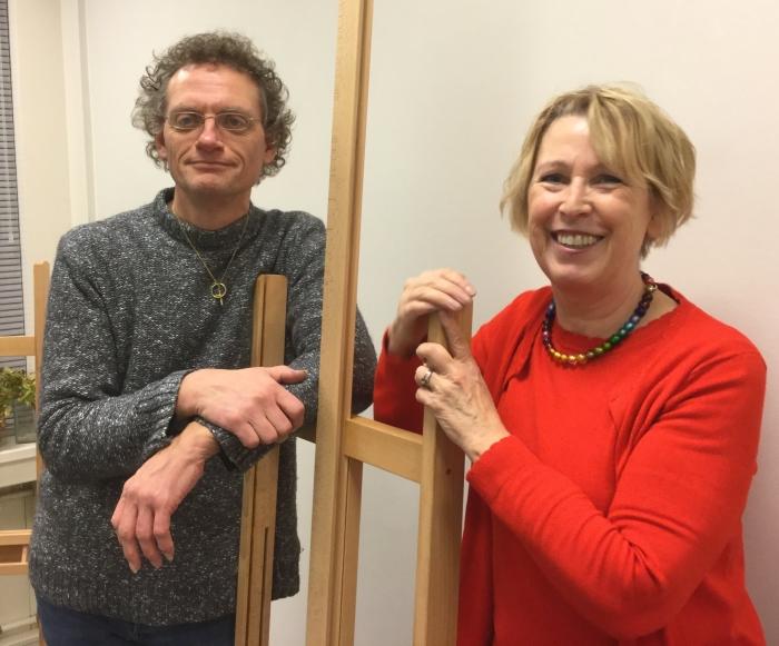 Dorie Canters en Peter van Es