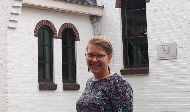 De nieuwe PKN dominee Marielle Jochemsen kijkt er naar uit een band op te bouwen.