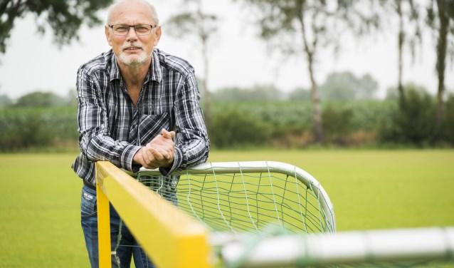Gerard Rijksen is de initiatiefnemer van het Walking Football in Voorthuizen.
