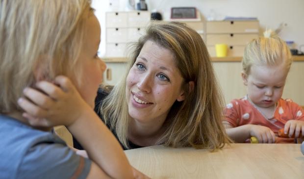 <p>SKDD-pedagoge Vera Copini ziet het als een uitdaging om iets te doen met alle verschillende behoeften van kinderen.</p>