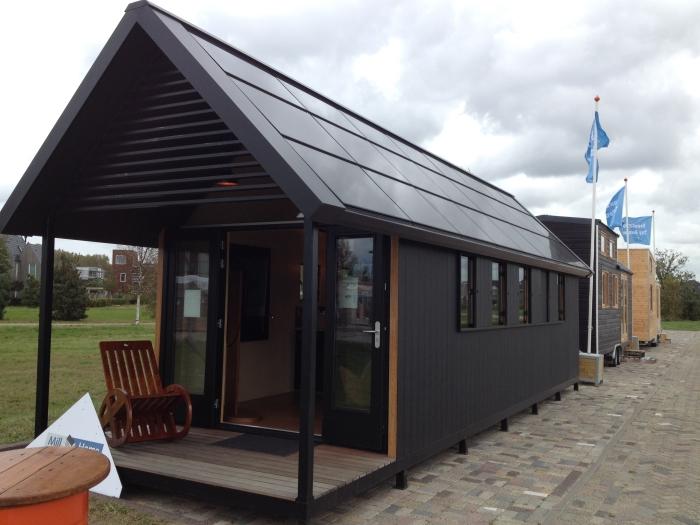 Almere - Tijdelijke expositie van Tiny Houses