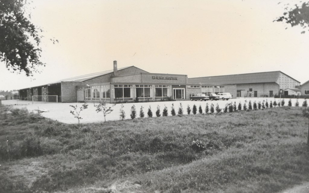 De veiling rond de opening in 1967