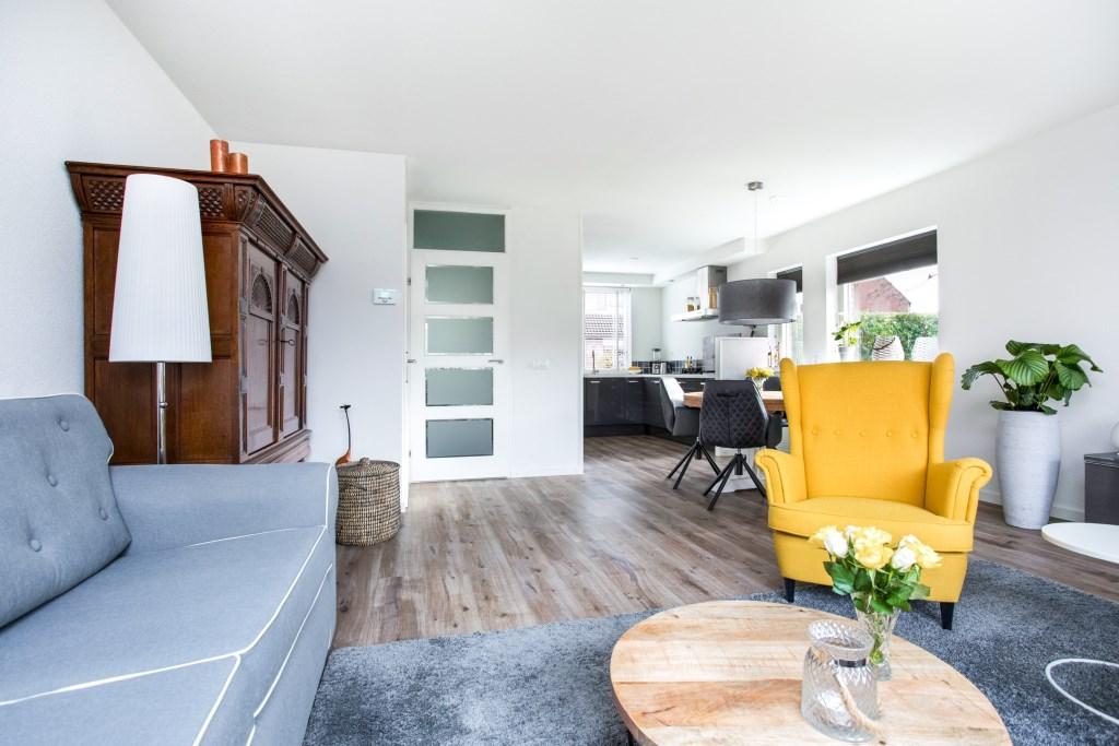 Lodewijk Oosthoek en zijn vrouw vonden het een 'heerlijk huis om in te wonen' MARJOEK WARMINK © BDU media
