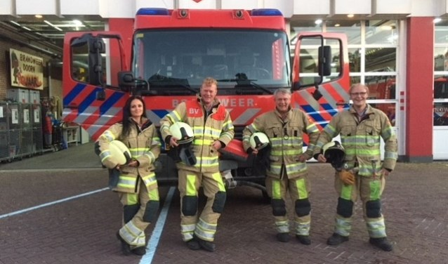 De brandweer in Doorn rijdt vanaf nu met een vier-koppel in plaats van het voormalige zes-koppel.