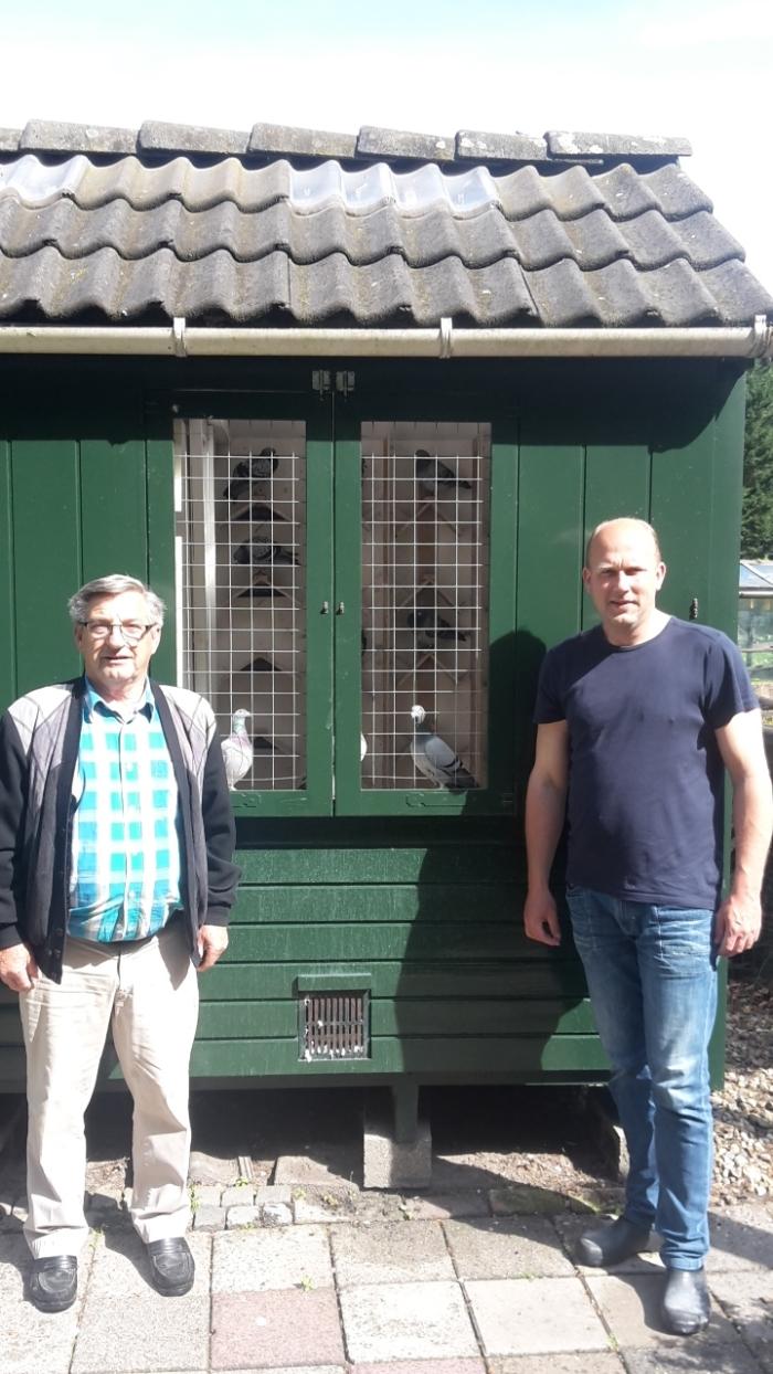 L Berend Sieben en Dennis van Essen