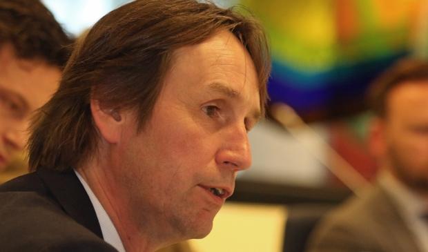 Wethouder Herbert Raat lichtte de Amstelveense inbraakpreventie toe in het NOS-journaal.