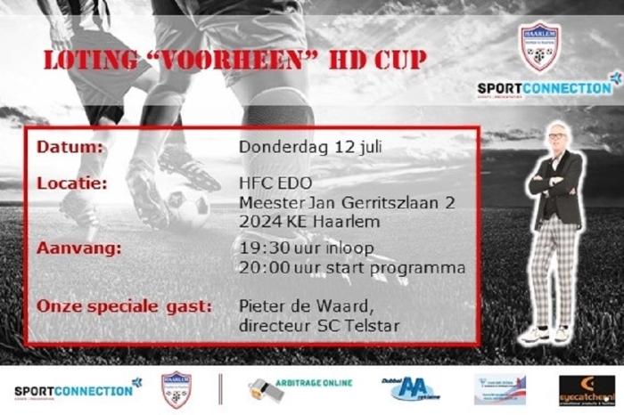 Uitnodiging Loting voormalige Haarlems Dagblad Cup