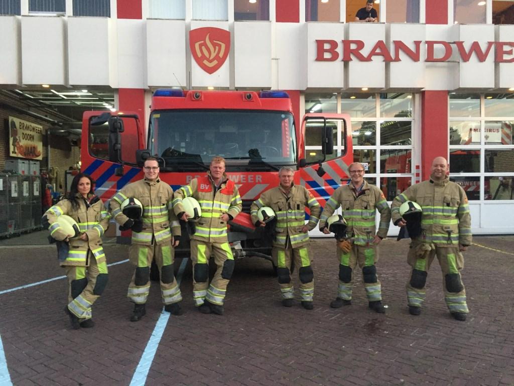 De brandweer in Doorn rijdt vanaf nu met een vier-koppel in plaats van het voormalige zes-koppel.  Gerrit Hardeman © BDU