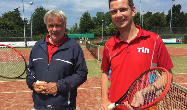 Theo Rottier draagt zijn tennisschool over aan zoon Jip