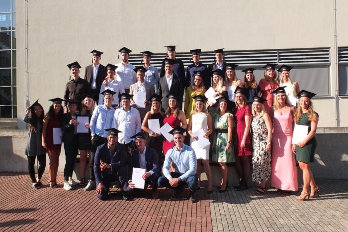 Afgestudeerden Business Studies Inholland Haarlem