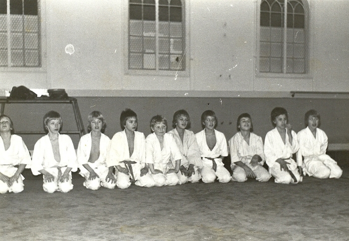 Judogroep in 1971