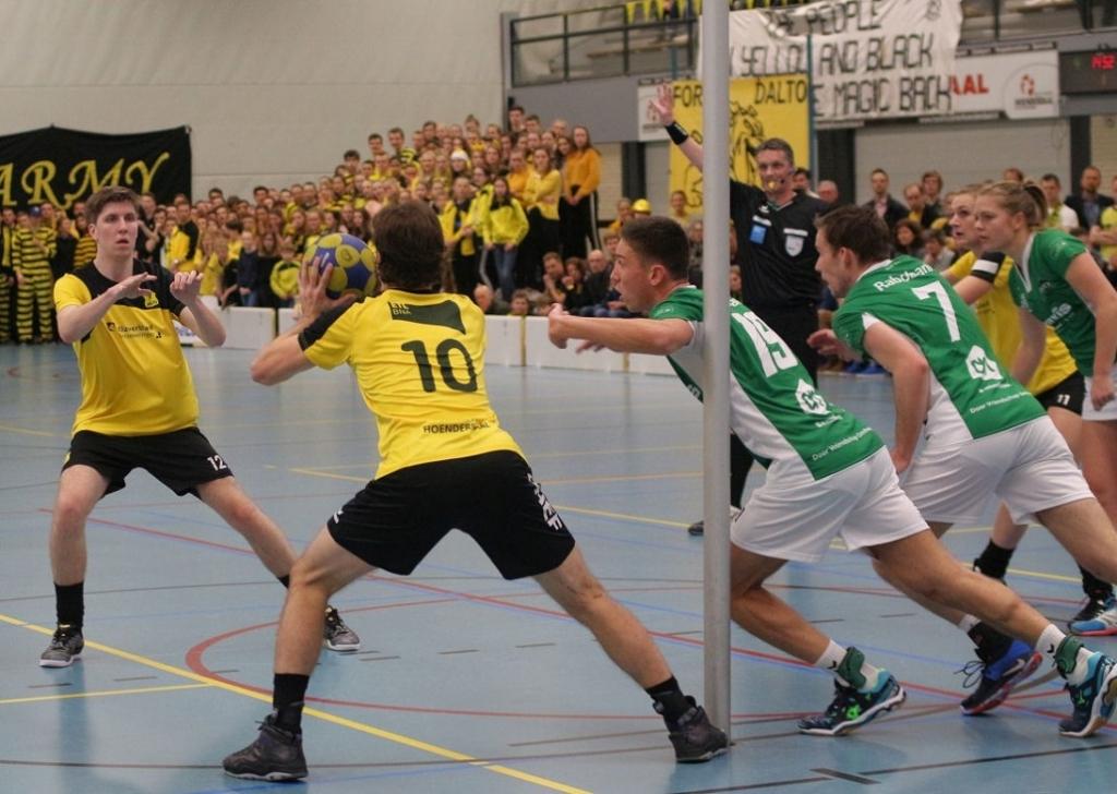 Dalto wil komend seizoen promoveren naar de Korfbal League