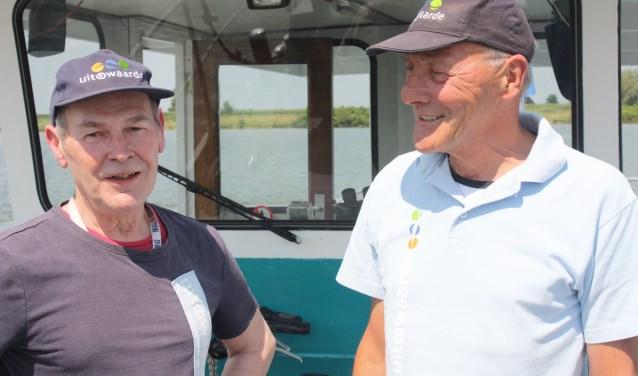 Schippers Eric van Grieken (l) en Cock Groeneveld.