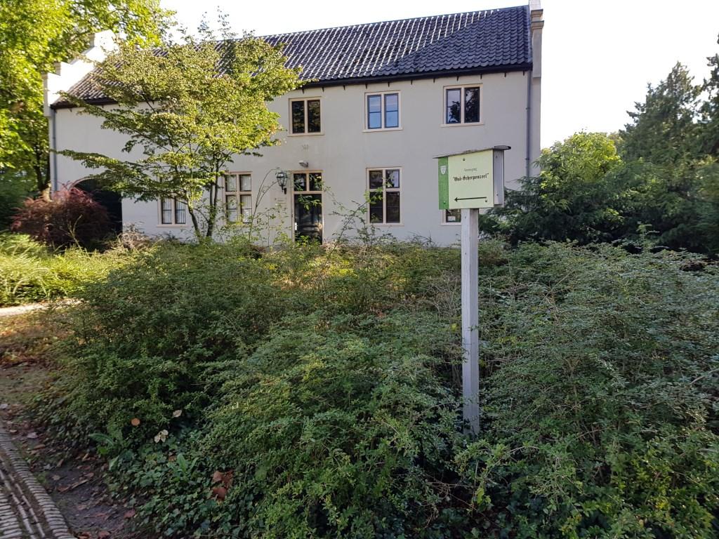Oud Scherpenzeel is blij met hun onderkomen in dit pand in het park van Scherpenzeel. Janneke Hek © BDU media