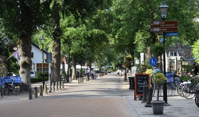 Aan de Dorpsstraat liggen alle horecagelegenheden.   © BDU media