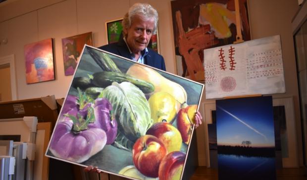 <p>Rob Kreszner, conservator van het Gorcums Museum</p>