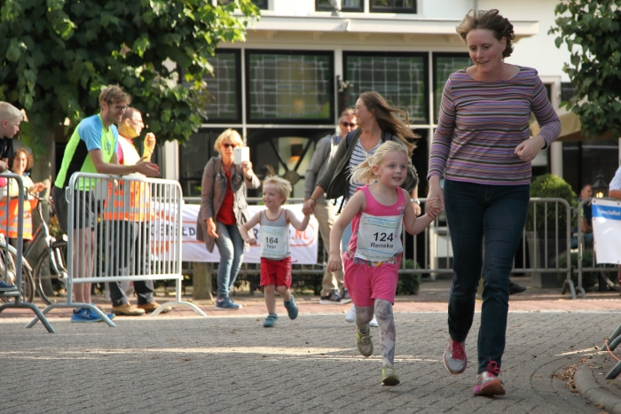 de 1 km kinderloop