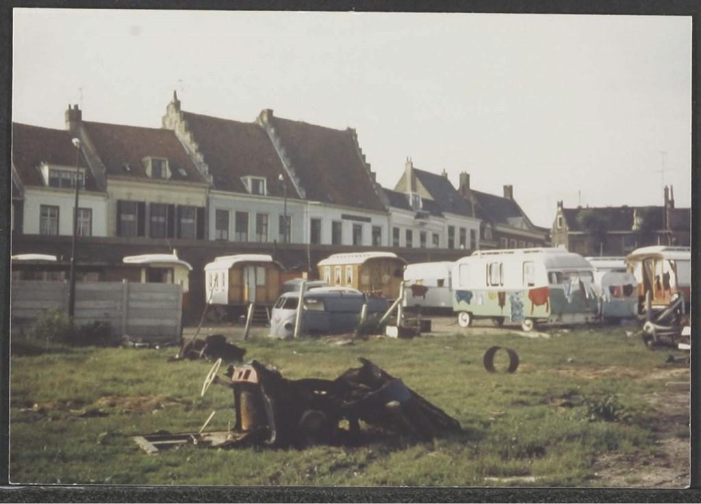 Woonwagenkamp bij de haven RHC Zuidoost Utrecht © BDU media