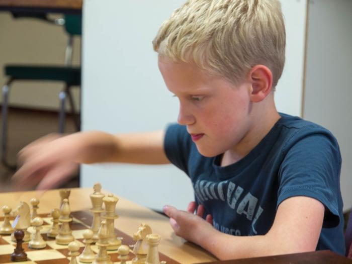 Ook de schaakjeugd start weer