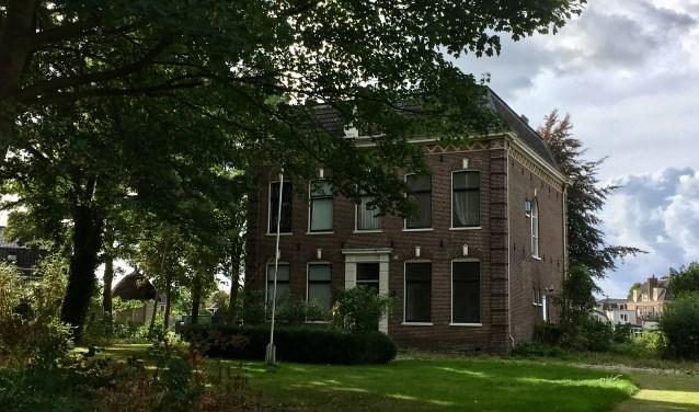 De pastorie van de Amstelkerk, komend weekend nog één keer open voor publiek