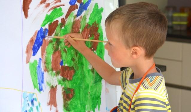 Schilderen is een van de activiteiten die Idea te bieden heeft. Het complete pakket wordt zaterdag gepresenteerd.