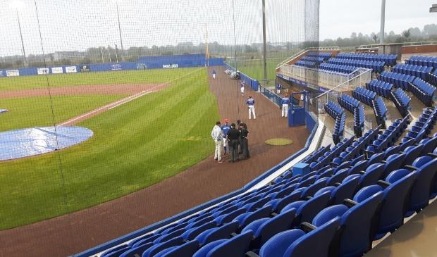 Het honkbalstadion van Hoofddorp.