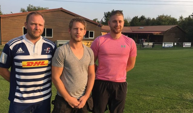 Xander van Mourik, Jeffrey Nuysten en Krijn Twigt zijn komend jaar trainers van de Pink Panthers