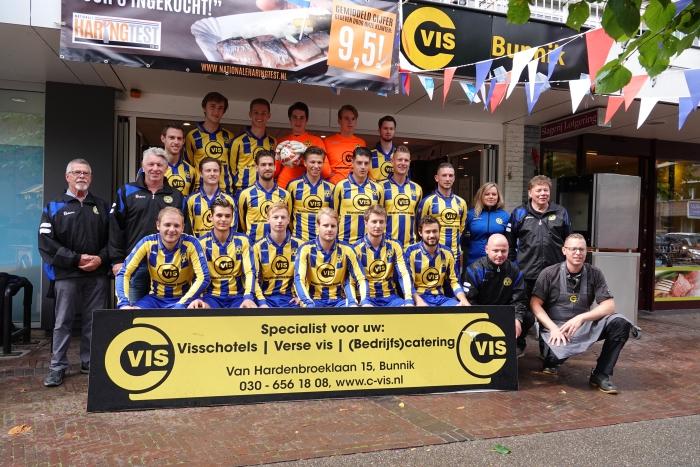 Shirtpresentatie 1e elftal V.V. Bunnik '73
