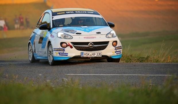Ernst Kranenburg en Wout de Klerk - Opel Adam - ADAC Rallye Deutschland