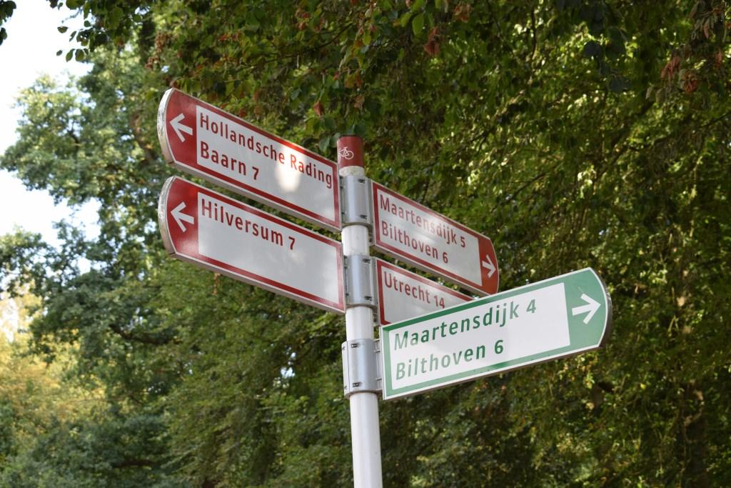 Vanuit Lage Vuursche kun je per fiets en lopend alle kanten op.  © BDU media