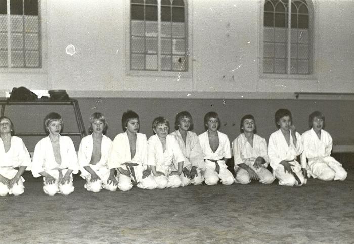 Judogroep in 1971