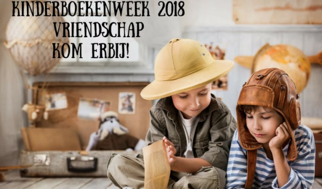 Het thema van de Kinderboekenweek is Vriendschap.