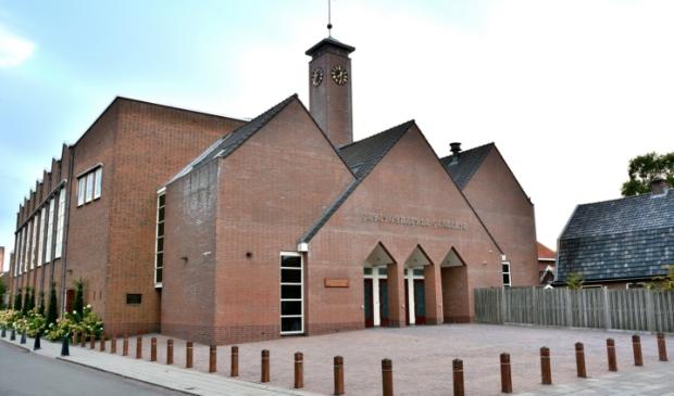 <p>De Rehobothkerk aan de Nairacstraat van de Gereformeerde Gemeente Barneveld-Centrum</p>