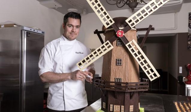 De molen van chocolade is een echte blikvanger.