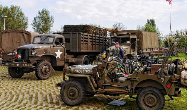 Er is genoeg indrukwekkend militair materieel te zien tijdens de Red Ball Express.