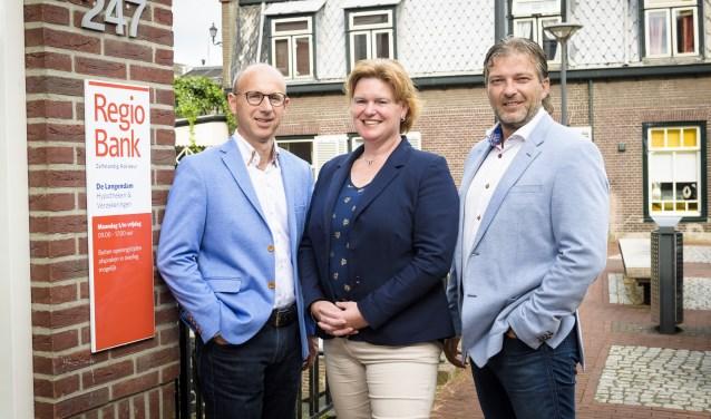 Gerco de Ruijter, Jacqueline Keizer en Michel Kooyman van De Langendam Hypotheken, Verzekeringen en Bankzaken