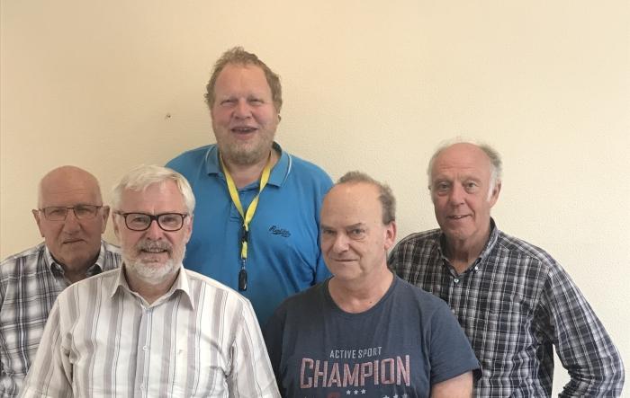Het team van Seniorweb Hardinxveld-Giessendam