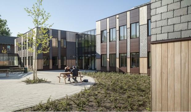 The Daaf Geluk School in Haarlem designed by Koning Ellis Architecten.