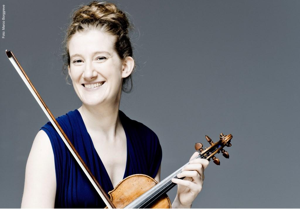 Violiste Maria Milstein opent op vrijdag 28 september als artist in residence het nieuwe concertseizoen van de Edesche Concertzaal.