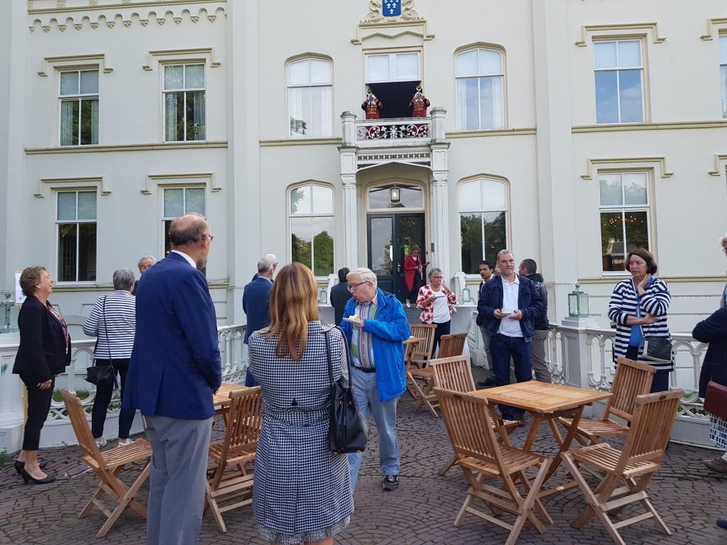 Ook Oud Woudenberg en Oud Renswoude was vertegenwoordigd. Evenals politici van omliggende dorpen. Janneke Hek © BDU media