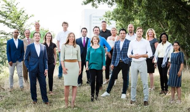 Het team van de VVD.