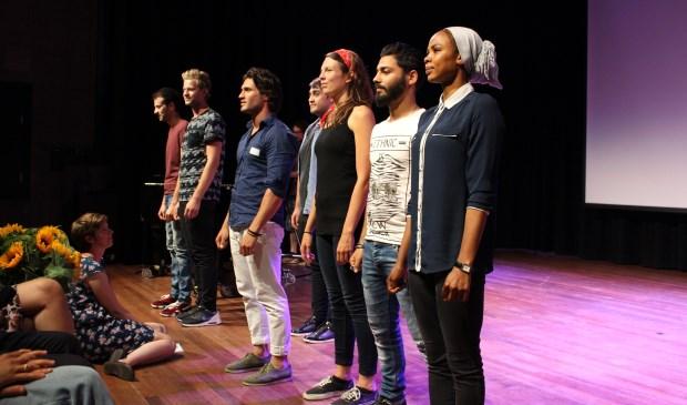 Een groep van 25 jonge vluchtelingen uit het AZC in Amersfoort gaat drie maanden lang diverse kunst- en cultuurworkshops volgen.