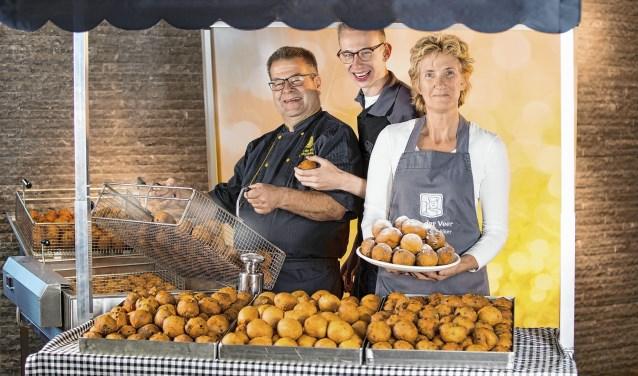 Jaap, Remco en Aukje van der Veer (archieffoto).