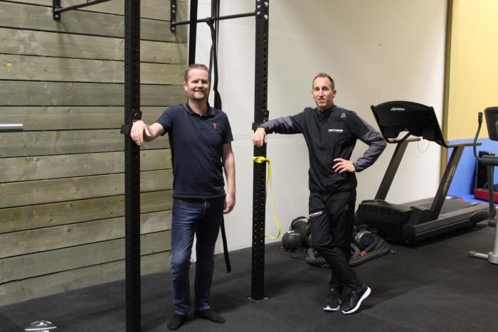 Trainingsruimte en trainers